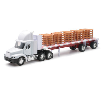 Freightliner Century Class Flatbed with Pallets 1:32 Scale 10593
