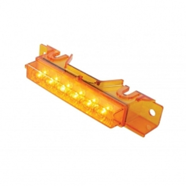 6 LED Volvo VNL Cab Light - Amber LED/Amber Lens