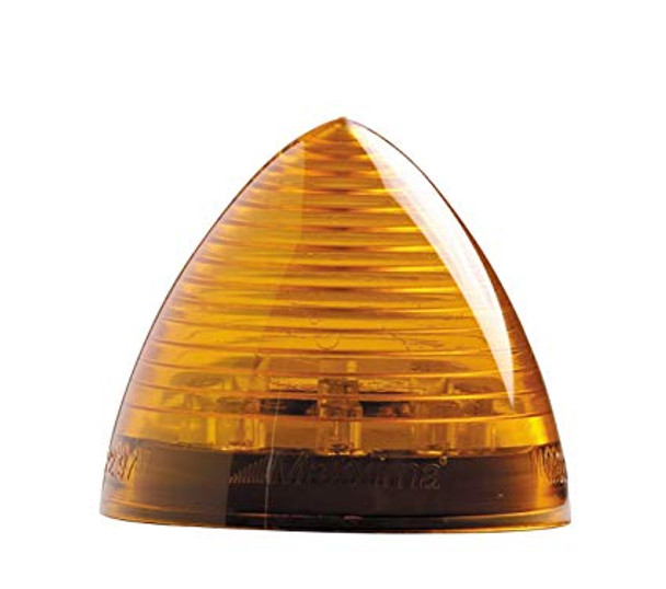 """Maxxima M09105Y 9 LED Amber 2"""" Beehive Clearance Marker Light"""