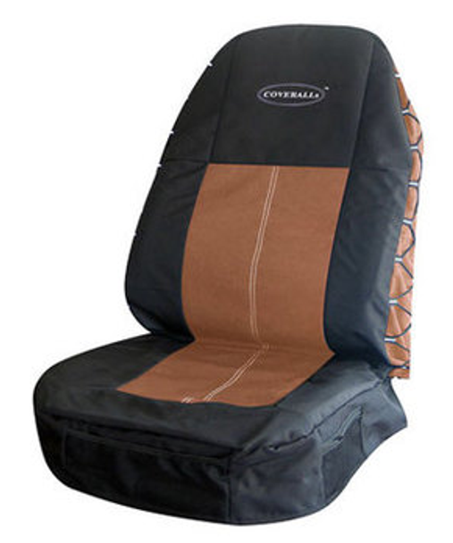 SEAT COVERS - BLACK AND BROWN-SET 181704XN1163