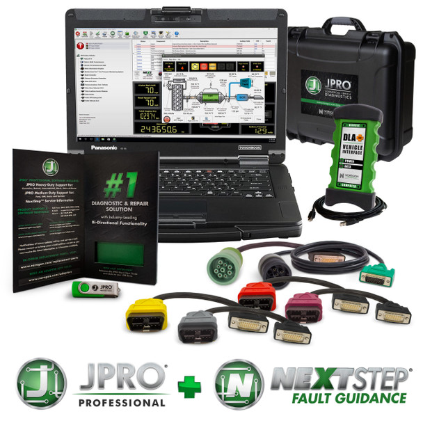 NEW JPRO Professional with NextStep Diagnostic Toolbox - 263025-NS