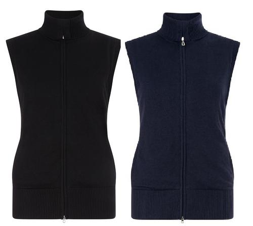 Callaway Ladies Merino Windstopper Vest Lark Clothing