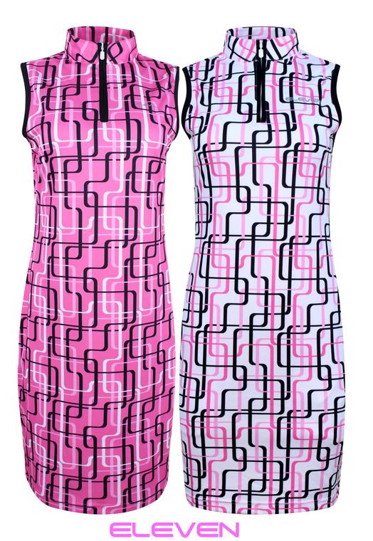Eleven Golf Daisy-May Sleeveless Stretch Dress