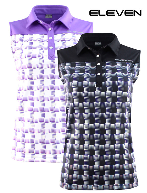 ELEVEN 2020 Golf Sleeveless Charlie  Polo FREE HOLDALL