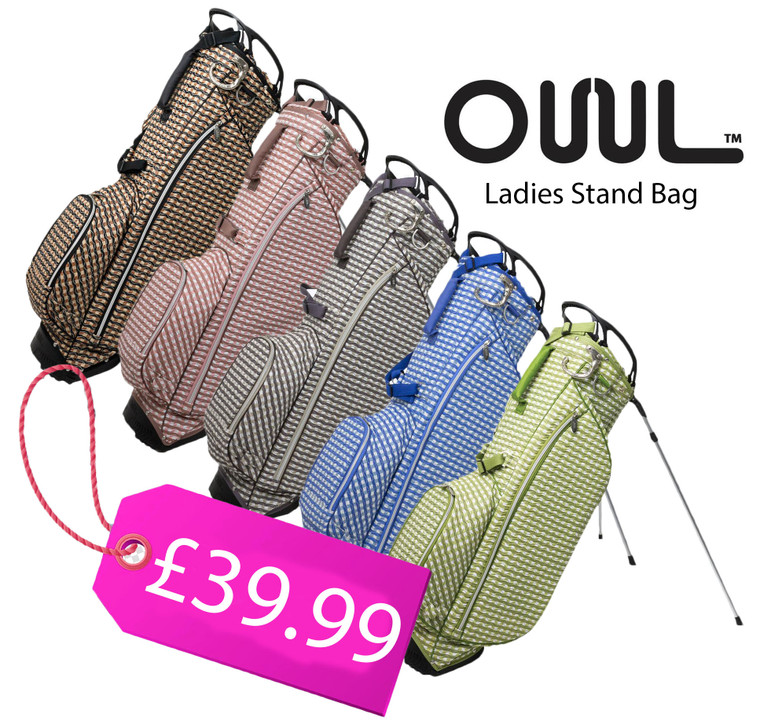 OUUL Check Wave Collection Stand Bag