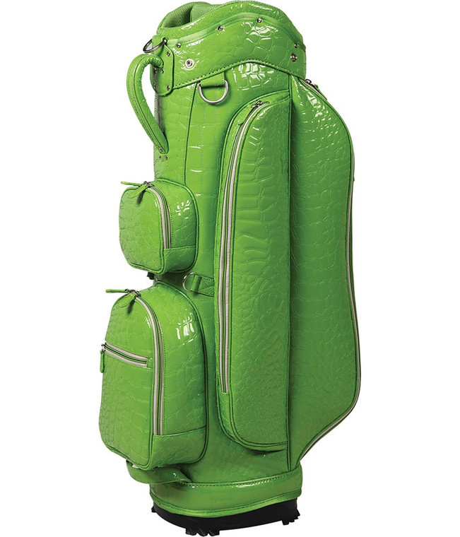 "OUUL Alligator Collection Ladies ""A"" Cart Bag Lime"