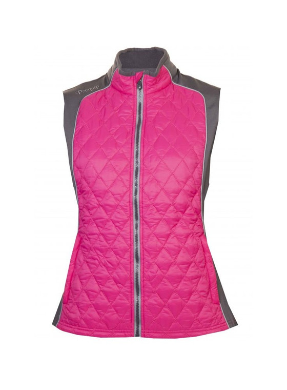 ProQuip Ava  Ladies Therma Tour Quilted Gilet Pink