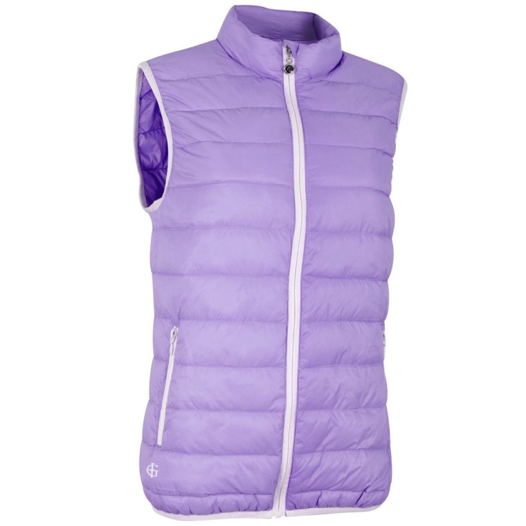 Island Green Ladies Ultra Lite Gilet with Compression Bag