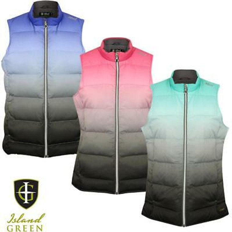 Island Green Quilted Gilet