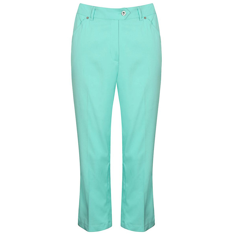 Island Green Womens Mid Length Durable Stylish Golf Trousers