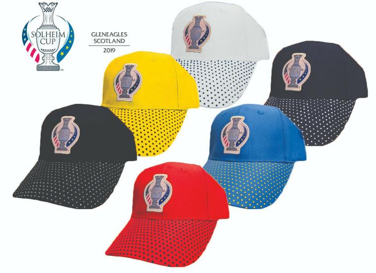 2019 Solheim Cup Gleneagles Scotland Tour Golf Cap Hat Adjustable Back