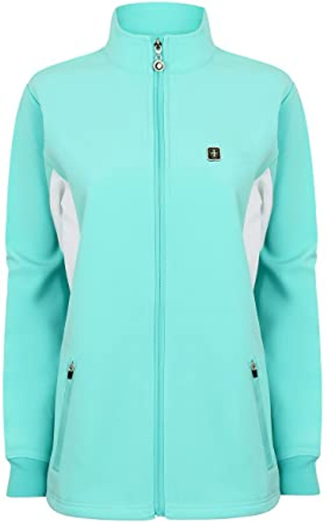 Island Green Golf Womens Thermal Breathable Windstopper Sports Softshell Jacket