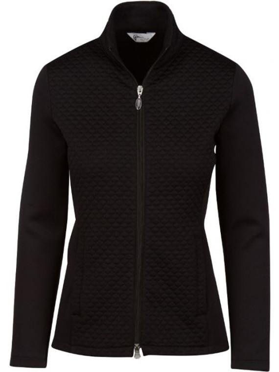 Greg Norman Ladies Jacquard Knit Jacket