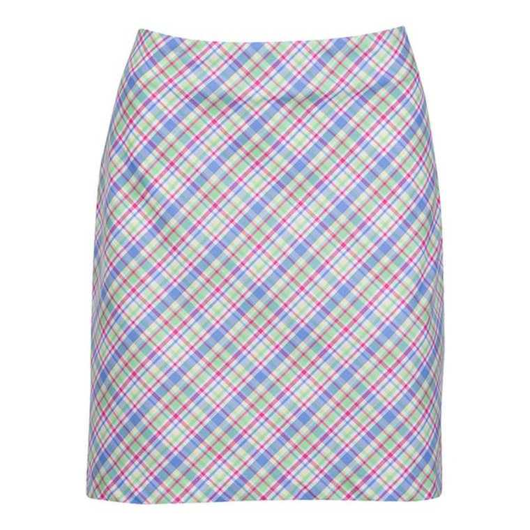 Greg Norman Ladies Preppy Plaid Skort