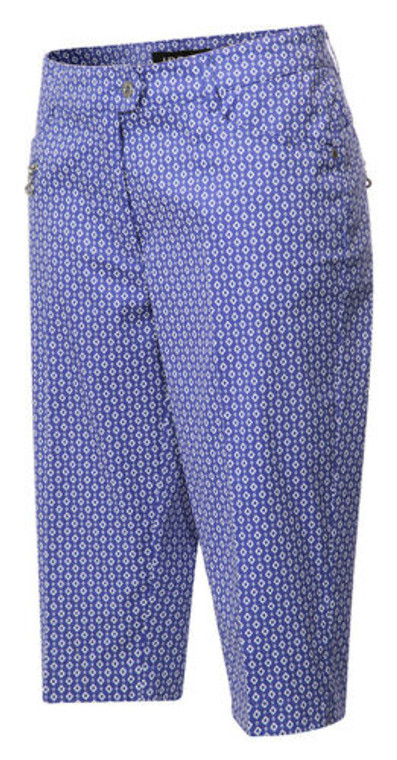 JRB Ladies Golf Diamond Check Capris
