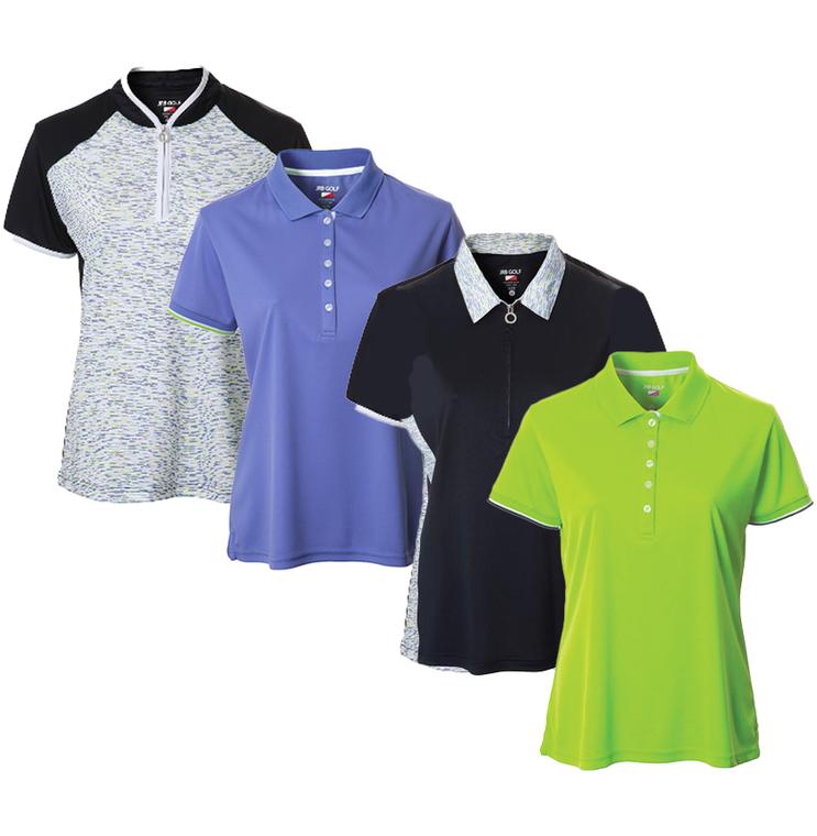 New JRB Ladies Golf Spring 2021 Short Sleeve Polo
