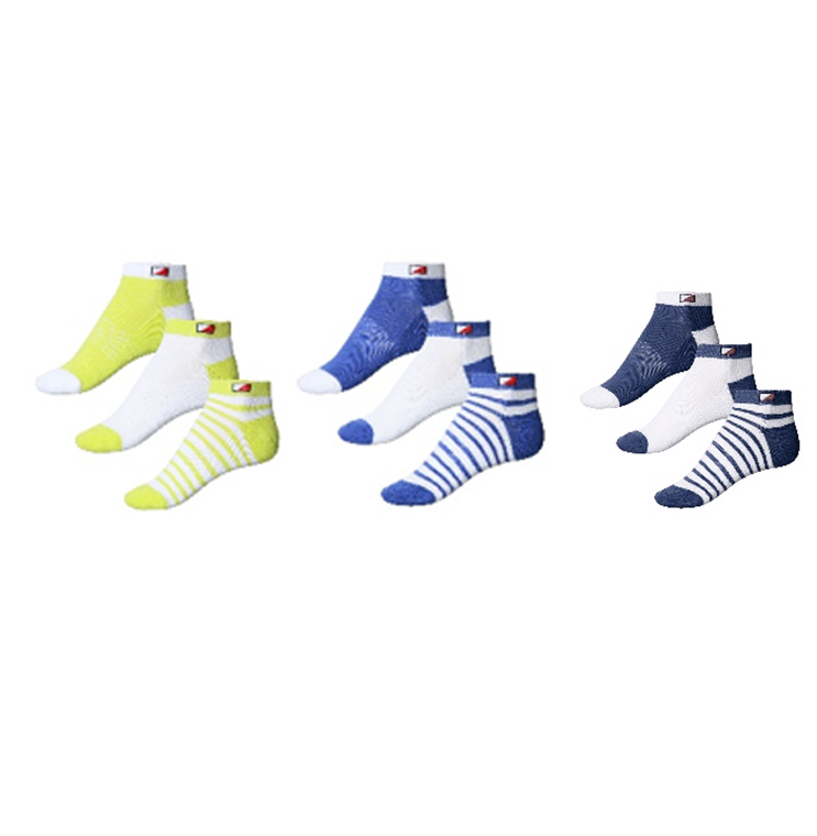 New JRB Ladies Golf Spring 2021 Padded Ankle Socks - 3 Pair Pack