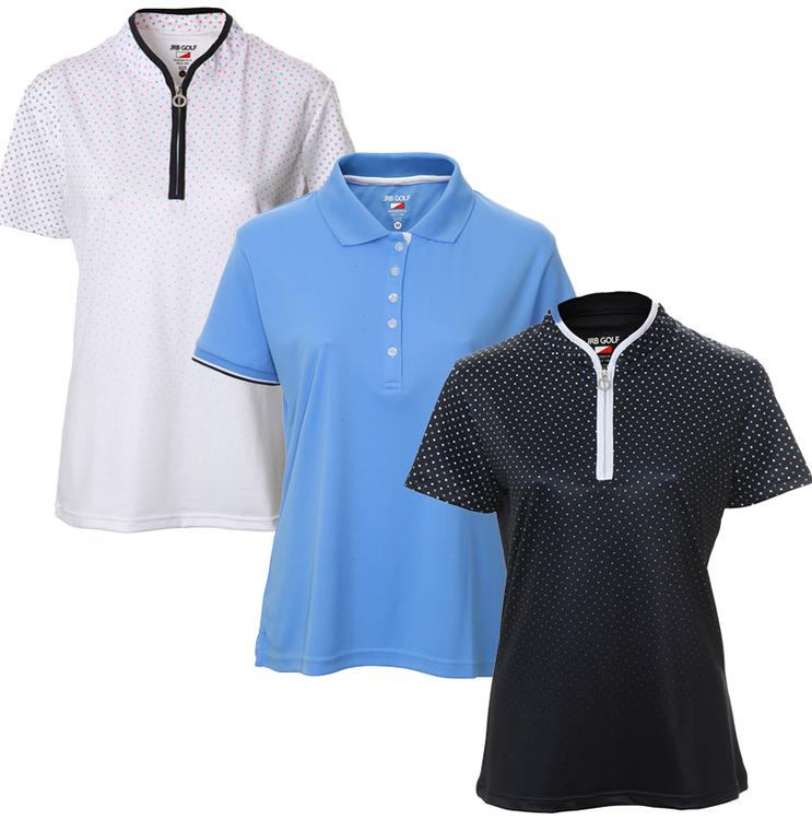 New JRB Ladies Golf Summer 2021 Short Sleeve Polo