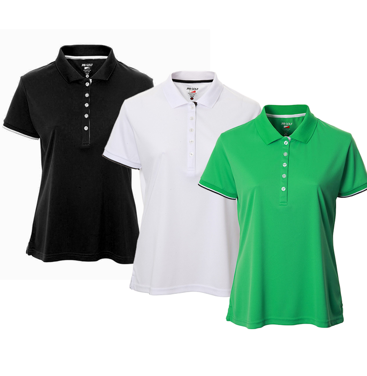 New JRB Ladies Golf 2021 Short Sleeve Polo