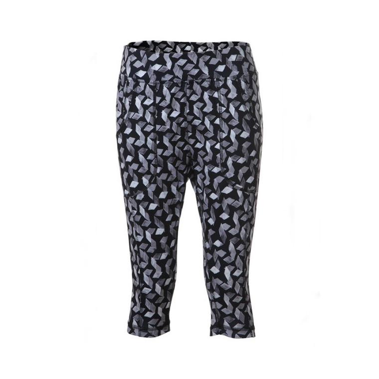 JRB Ladies Leggings - Navy with Diamond Print