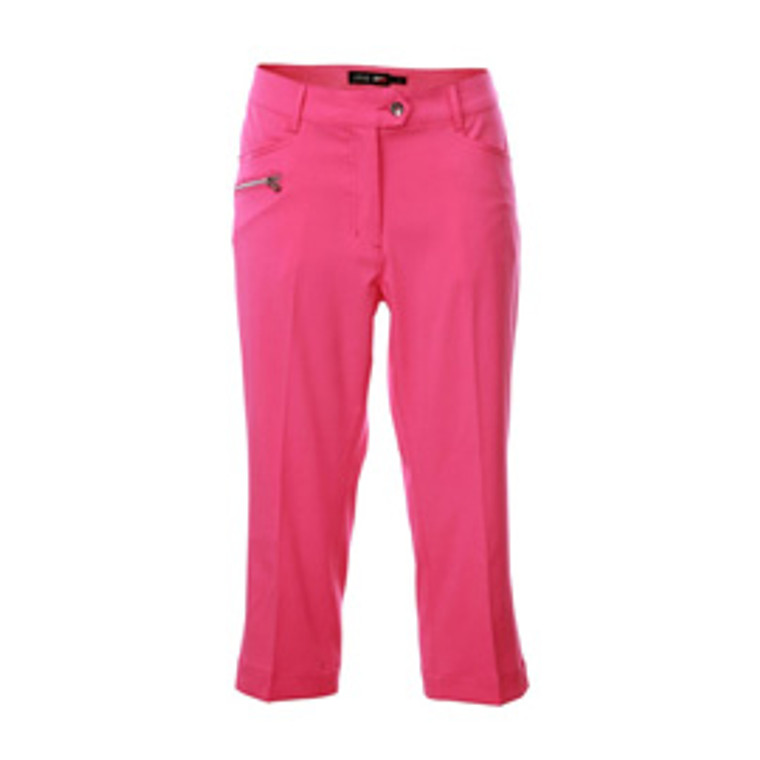 JRB Ladies Pink Golf Capris
