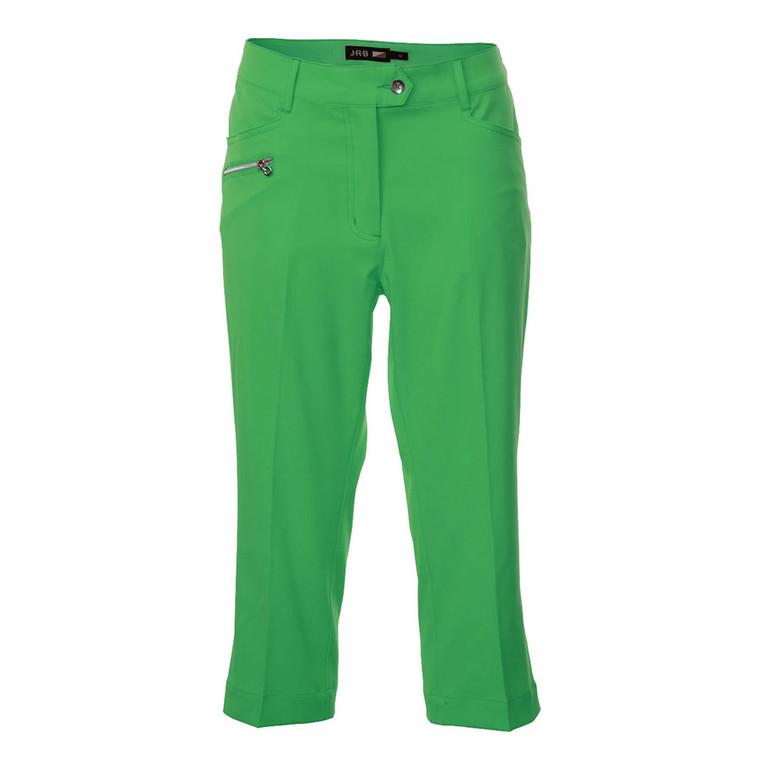 JRB Ladies Green Golf Capris