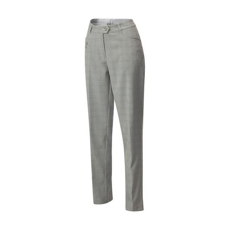 JRB Ladies Golf Trousers - Prince of Wales Check