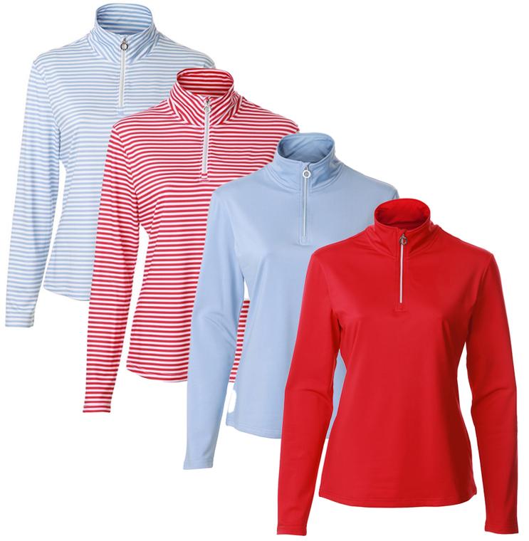 JRB Ladies Golf Long Sleeve Winter Mid Layer Top