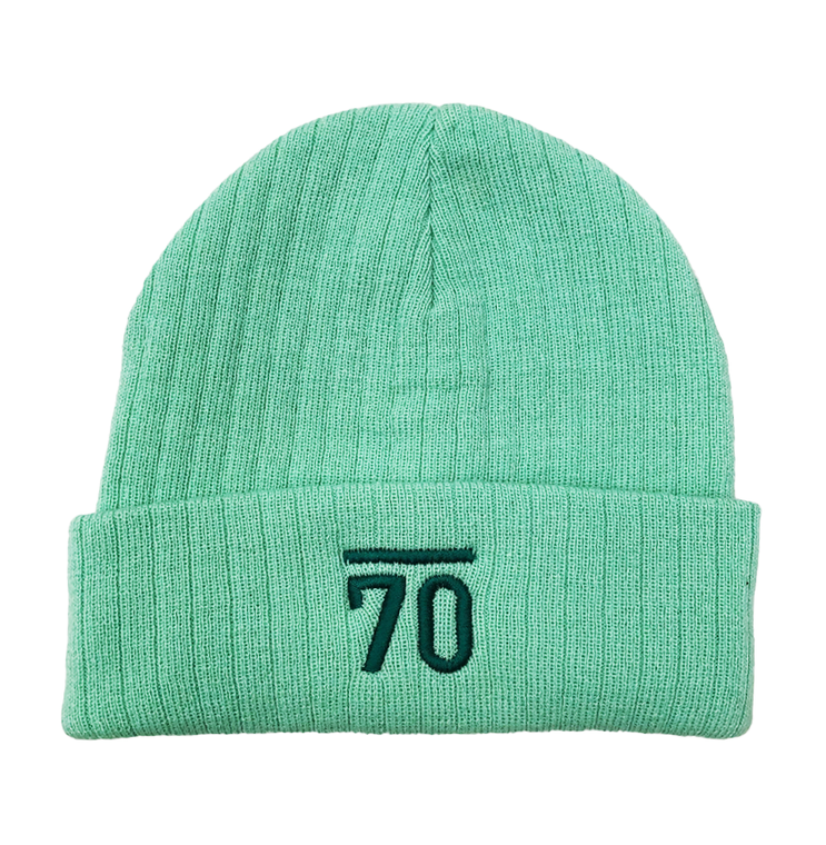 Sub70 Ladies Fleece Lined Golf Hat - Pastel Green