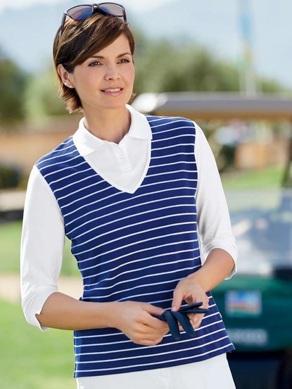 Ami 3/4 Sleeve Polo Shirt