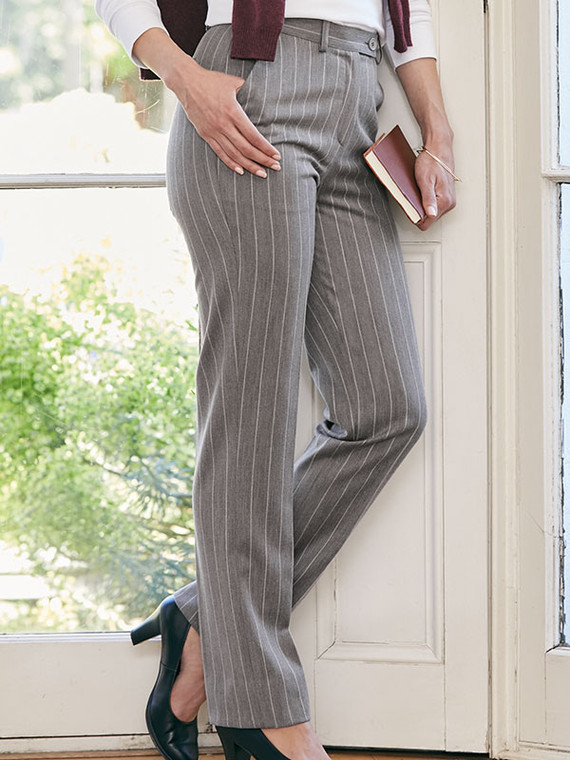 Classic Straight Fit Trousers