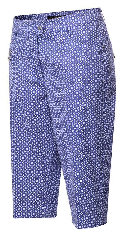 JRB Ladies Golf Check Print City Shorts