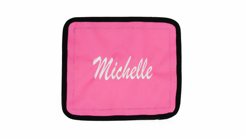 Pink Velcro Patch - Large