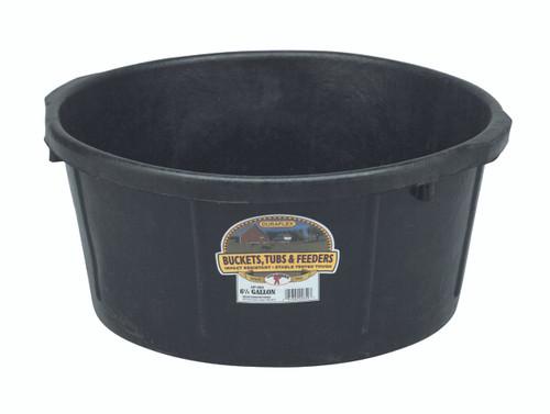 Rubber 6.5 Gallon Feed Pan