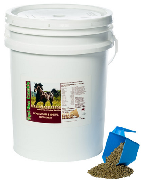 Equi-Max  Crumble Horse Vitamin and Mineral Supplement  10KG