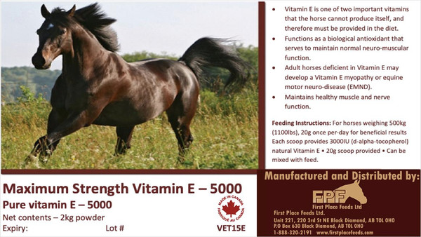 Pure Maximum Strength Vitamin E 5000 2KG