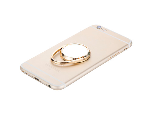 Mobile Phone Finger Ring Stand / Grip - Gold