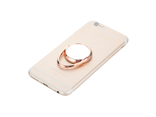 Mobile Phone Finger Ring Stand / Grip - Rose Gold