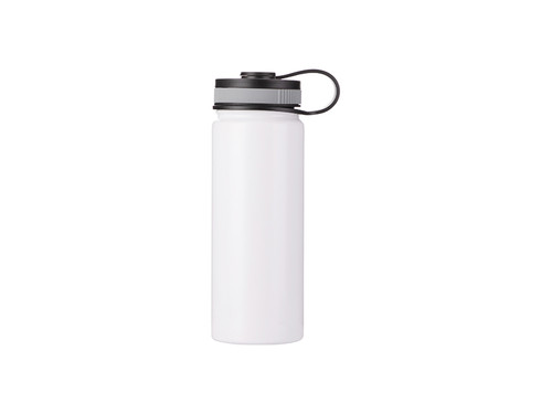 18oz/550ml Stainless Steel Flask w/ Portable Lid