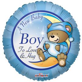 Choose Options A New Baby Boy Helium Balloon