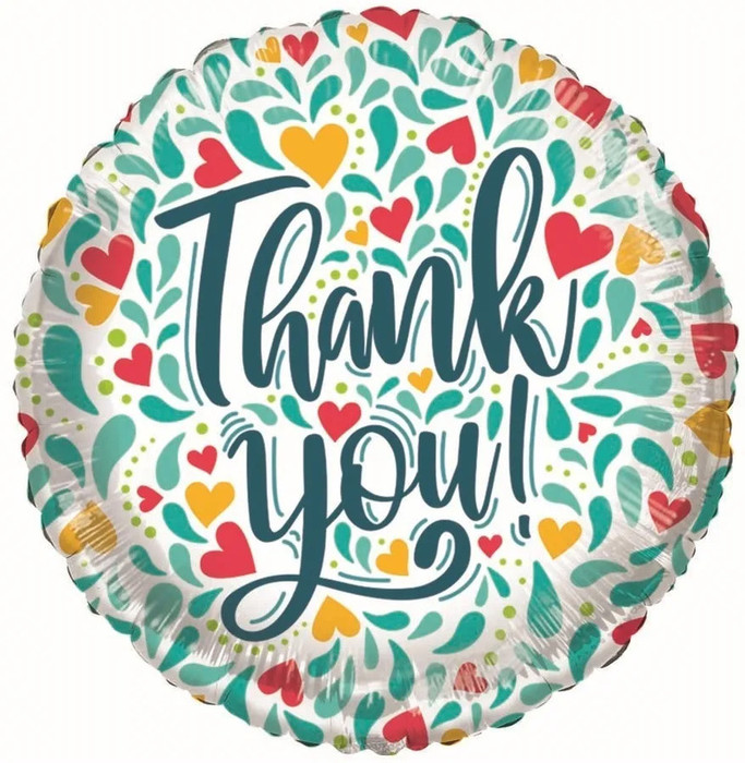 ECO Balloon - Thank You Decorative (18 Inch) [OUT OF STOCK]