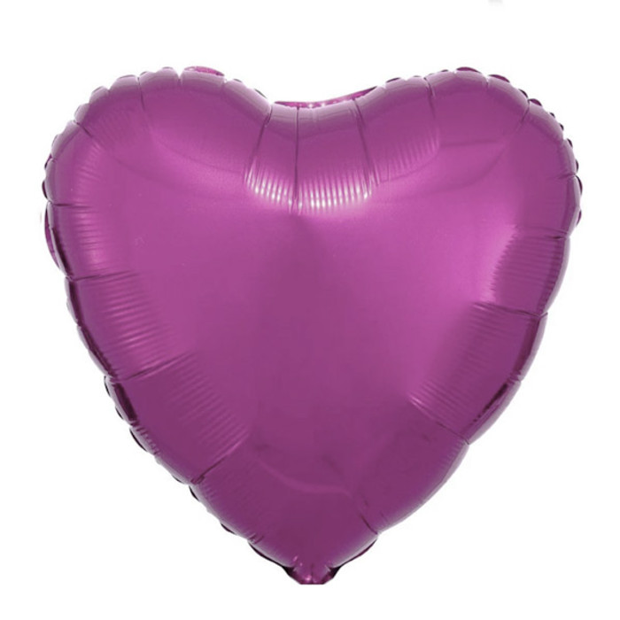 """18"""" Heart - Hot Pink"""