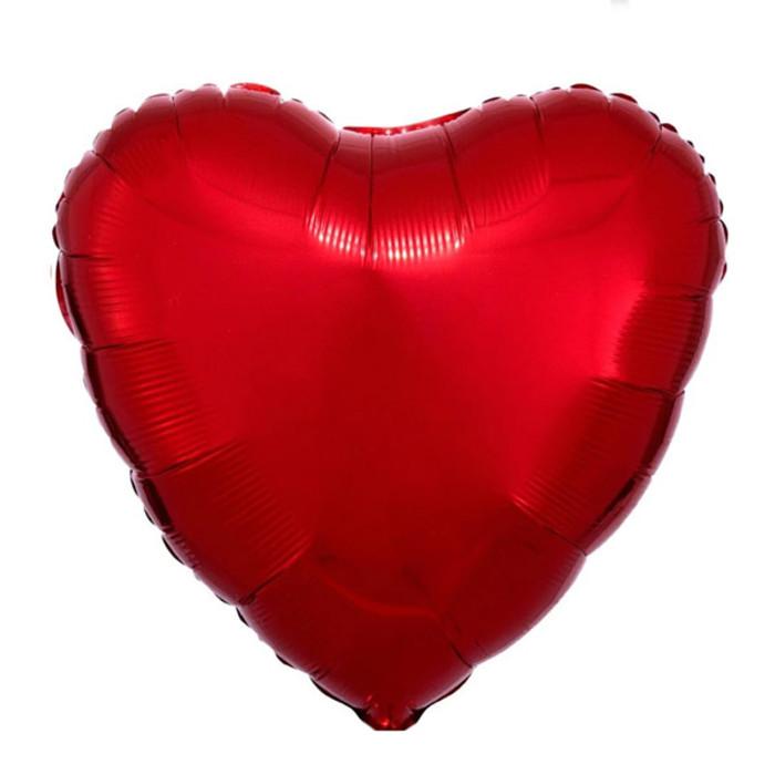18'' Heart Balloon - Red