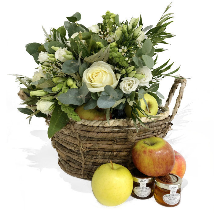 White and Green Gift Set