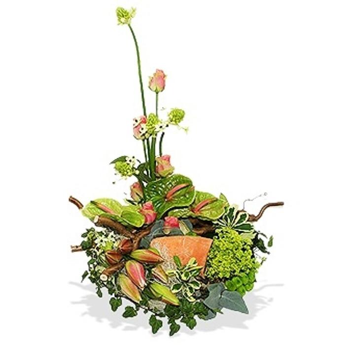 Contemporary Exotic Wreath