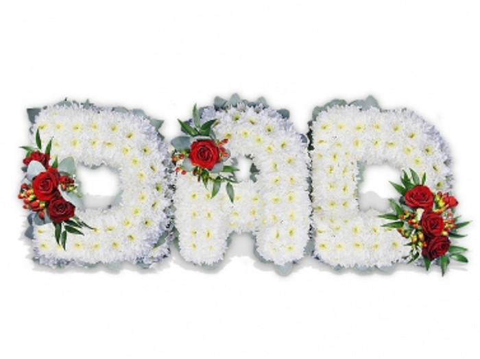 DAD Floral Letters