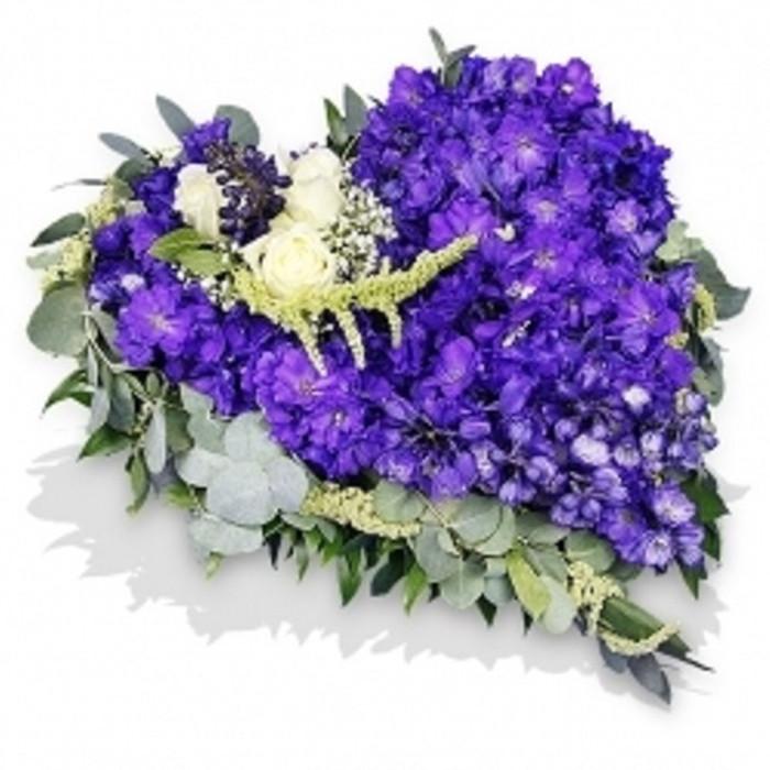 Blue Heart Funeral Tribute