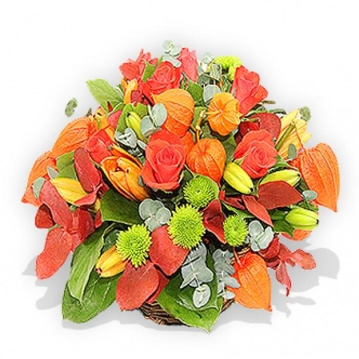 Orange Flower Posy
