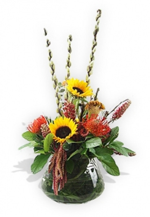 Sunflowers and Pins