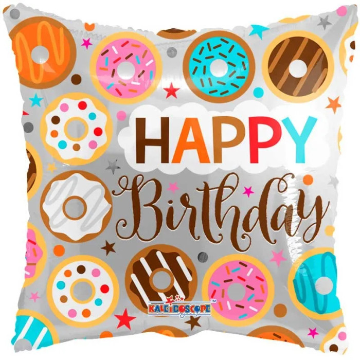 Happy Birthday Donuts (18 inch)